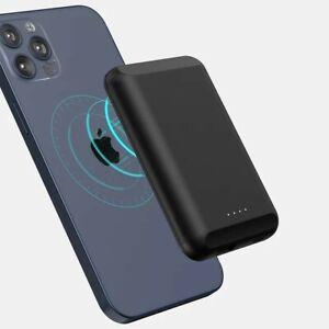 Powerbank Qi 5000mAh MagSafe Magnetisch für iPhone 12 / Mini / Pro / Pro Max