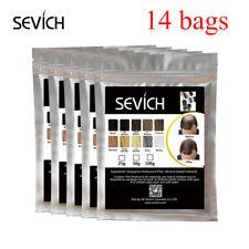 Bolsas de recarga sevich 1400g mejor cuidado de proteína de queratina Salon Polvo de fibras de pérdida de pelo