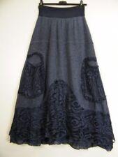 Gonne e minigonne da donna blu lunghezza lunghezza totale in cotone