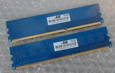 2 GO Kit HP 497156-B88 PC3-10600U 1333MHz 1Rx8 DDR3 240-P Non-ECC