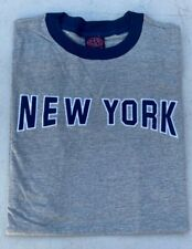 New York Embroidered 100% Cotton T-Shirts All Sizes NWT
