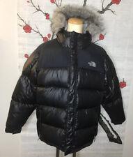 Boy's The Northface  Goose Down Jacket W/ Detachable Fur Hood Size XL