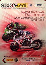 Laguna Seca Geico Motorcycle US Round 2015 Orig. Event 1st on eBay! Car Poster