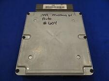99 00 MUSTANG GT 4.6L SOHC AUTO ECU ECM ENGINE COMPUTER #604