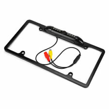 License Plate Frame Cover Shield 8 IR Night Vision Rear View Camera For Car Rear