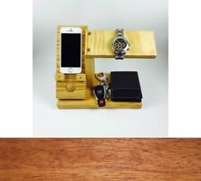 All-In-One Desktop/Tabletop Phone Charging Station Watch Stand & Valet Organizer
