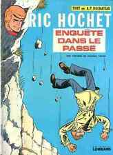 Ric Hochet Enquête dans le passé EO 1974 Tibet Duchateau Edition originale
