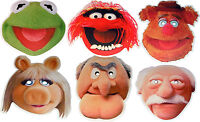 THE MUPPETS - FUN PARTY FACE MASKS - 6 TO CHOOSE FROM - LICENSED PRODUCTS