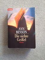Die siebte Geißel. The Plague Tales von Ann Benson (1998, Taschenbuch)