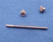 Nickel Stop screw Nuts,Rod Post - 3rd slide Trumpet Bach Stradivarius strad 180