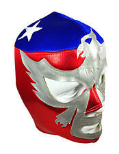 PATRIOT AMERICA USA (pro-fit) Adult Lucha Libre Halloween Wrestling Mask