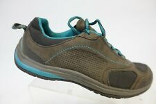 CLARKS Low-Top Grey Sz 6 Women Hiking Shoes