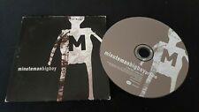 Minuteman – Big Boy CD Single Cardsleeve