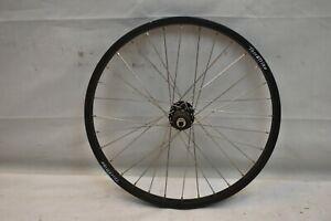 "Rear 20"" Recumbent Wheel Terra Trike Black 8/9SPD OLW135 32S 20mm AV QR Charity!"