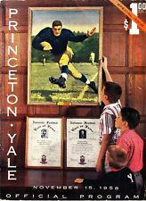 Princeton vs. Yale Official Program November 15 1958 Old Ads New Haven CT