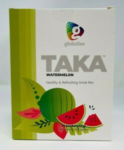 TAKA by Globallee - Watermelon - Healthy Energy Drink 15 Packet Box - EXP: 2022