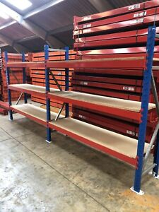 2 bays Of Warehouse Shelving Style By VPM Racking