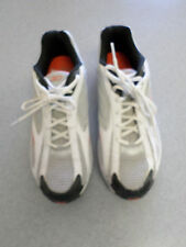 "Reebok ""DMX"" white, gray and black running shoes. Men's 13 (eur 47)"
