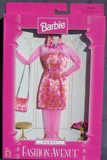 barbie FASHION AVENUE Party 1997 Mattel 18155 robe léopard rose pantalon tenue