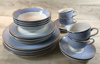 DOULTON Four Place Setting Royal Dinner Plate Tea Set 20pcs, New, Gift Rrp £99