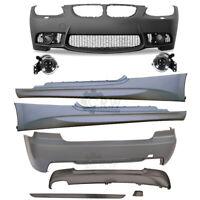 Set Bodykit Stoßstange vorne + hinten+Zubehör für BMW  E92 E93 06-09 Sport Optik