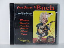 CD ALBUM Jazz guitar BACH ANDRE BENICHOU 19186