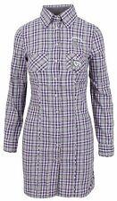L' ARGENTINA Damen Longbluse Bluse Lang Shirt Polo Größe 38 M 100% Baumwolle NEU