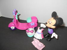 Minnie Mouse Bow-Tique Scooter, Minnie Action Figure and Accessories  AR-5