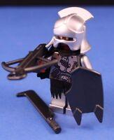 LEGO® LORD OF THE RINGS™ URUK HAI CAPTAIN Custom Minifigure +Silver Helmet