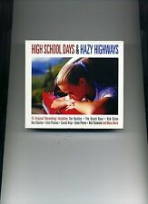 HIGH SCHOOL DAYS & HAZY HIGHWAYS - BEATLES CLIFF DRIFTERS ELVIS - 3 CDS - NEW!!