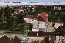 5104/Foto AK, Lutterbach els., anglosassone, sanatorio, 1917