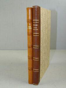 Oltner Bücherfreunde Haller Kurz bündig Kästner - 2 Bde Novellen nummeriert 1946