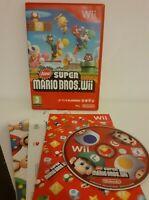 New Super Mario Bros Wii - Nintendo Wii Game - Free P & P