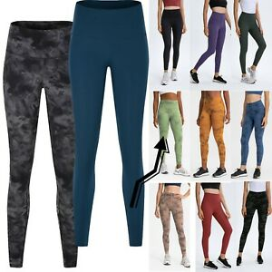 FITINCLINE Women's Leggings Buttery Soft Yoga Pant Gym Fitness No Front Seam