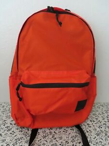 The Brown Buffalo Stormproof  Nylon standard issue Backpack Orange reflective