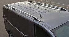 Aluminium Roof Rack Rails Side Bars Set To Fit L1H1 Renault Trafic (2014+)