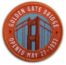 Golden Gate Bridge Patch, (Iron on) - Golden Gate National Parks Conservancy, CA