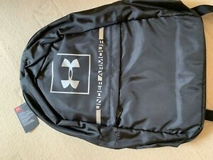 Bmwt Under Armour Back Pack Black Bag With Silver Logo