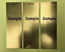 "260 Brass Shim Sheet  0.025/"" Thick x 6.00/"" Wide x 100/"" Length"