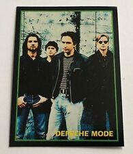 Depeche Mode 1994 Argentina International Rock Card Band 90s Dave Gahan 1990s