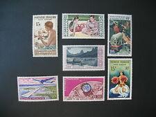 Polynésie  Stamps French Colonies  PA N° 1 à 7  neuf  **  C: 109 €  à voir