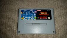Space Invaders Super Nintendo SNES Cartridge, Cleaned & Tested