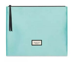 GUCCI Satin Pouch / Clutch--Brand New Sealed
