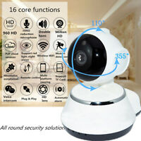 720P WiFi Wireless Indoor Home Security Camera Night Vision HD Baby Pet Monitor
