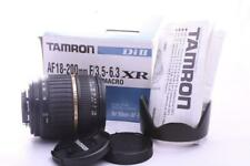Nikon fit Tamron 18-200mm  XR Di II LD Macro Aspherical GREAT CONDITION
