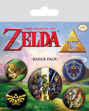 *OFFICIAL* The Legend Of Zelda Badge Pack *NEW, FAST UK DISPATCH*