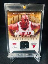 2007 Michael Jordan Bulls Fleer Missing Links Game-Worn Jersey Card #MJ-4 WOW !!