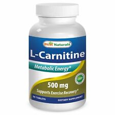 Best Naturals L-Carnitine 500Mg 90 Tab *Metabolic Energy*