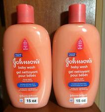 Johnson's Honey Apple Baby Wash 15 oz. x 2