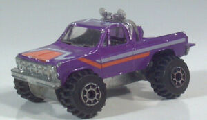 """Vintage Road Champs GMC High Roller 4x4 Pickup Truck 3"""" Diecast Scale Model"""